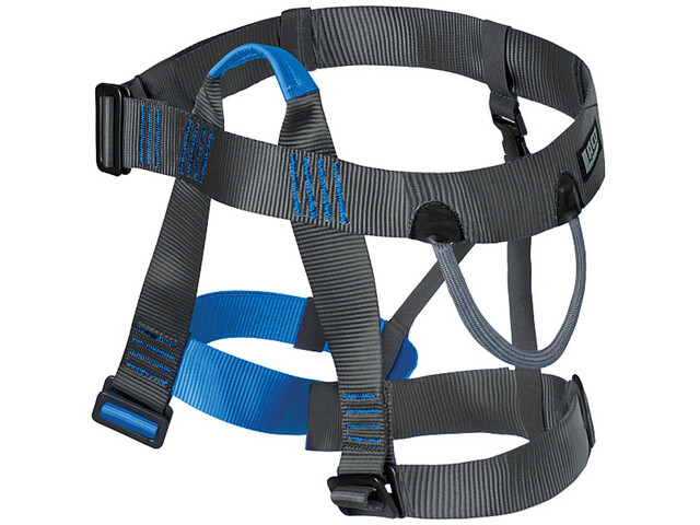 Klettergurt Loopo Light Von Edelrid : Lacd easy 2.0 harness blue grey campz.at